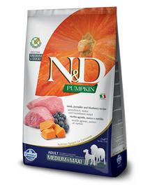 FARMINA N&D Pumpkin Lamb & Blueberry Adult Medium & Maxi Hund 2.5 kg